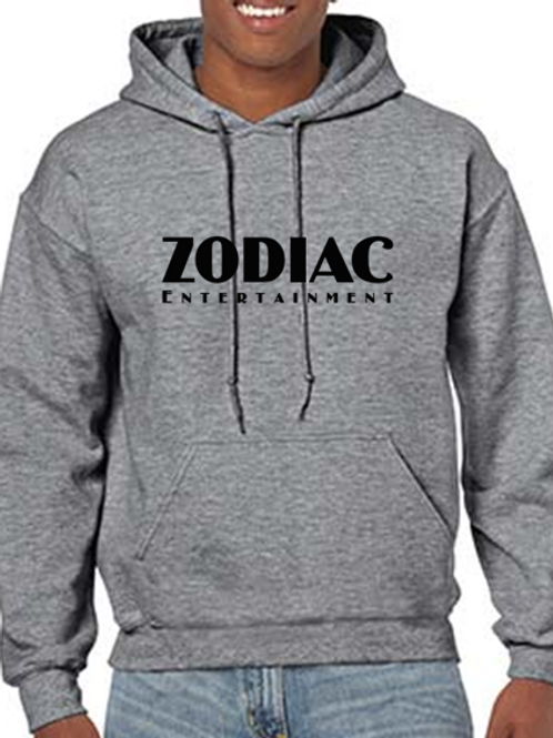 EG342z Hooded Sweatshirt - Graphite Heather w/ Zodiac Logo