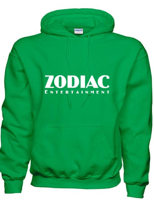 EG342z Hooded Sweatshirt - Irish Green w/ Zodiac Logo