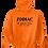 Thumbnail: EG342z Hooded Pullover Sweatshirt -Brights w/ Blk Zodiac Logo