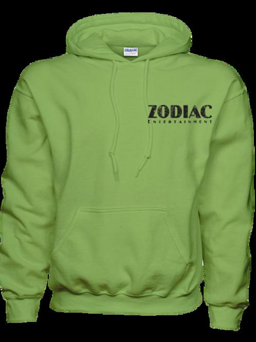 EG342z Hooded Pullover Sweatshirt - Darks w/ Blk Zodiac Logo