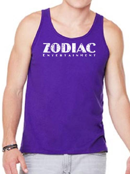 EB250z  Men's Jersey Tank - Purple w/ Zodiac Logo