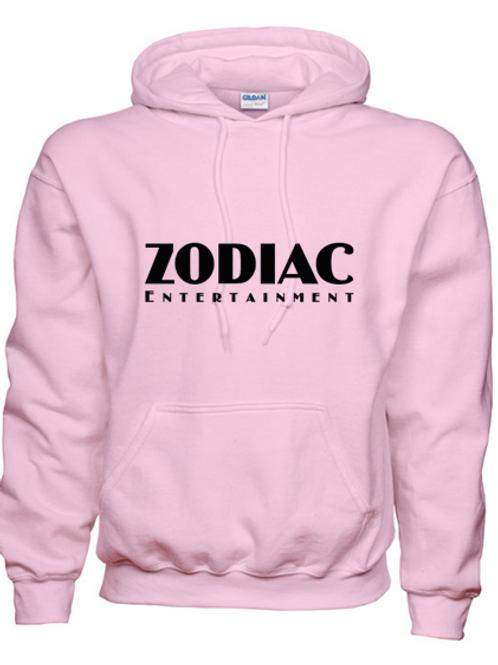 EG342z Hooded Sweatshirt - Lt Pink w/ Zodiac Logo