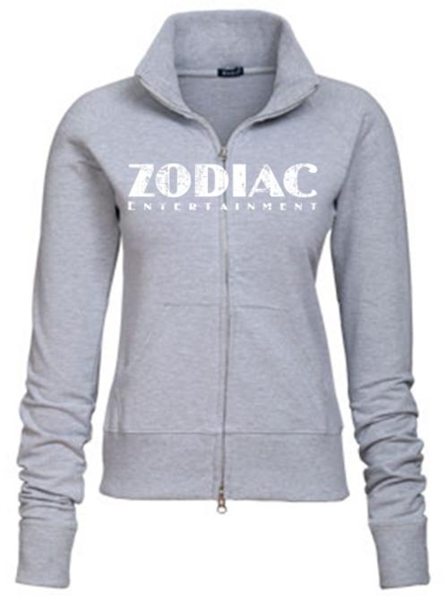 EZ088z Ladies Track Jacket-Lights w/ Zodiac Logo