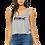 Thumbnail: EB8880z - Ladies Flowy Boxy Tank w/ Blk Zodiac logo