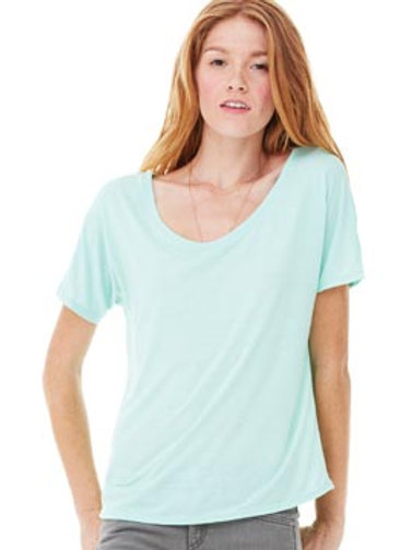 BL087 BELLA + CANVAS Women's Flowy Simple Tee