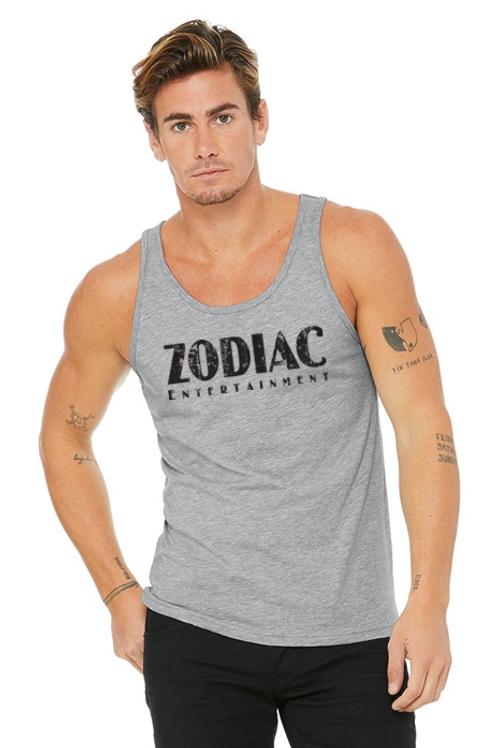 EB3480z Men's Jersey Tank - Athletic Heather w/ Zodiac Logo