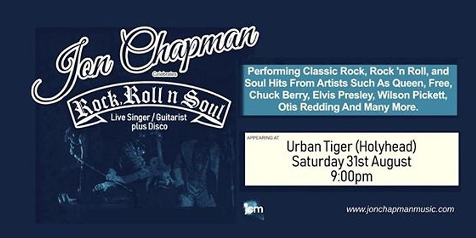 Rock N Soul night with Jon Chapman