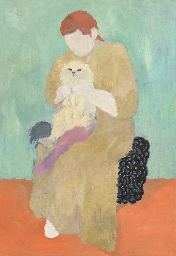 『다시, 그녀에게_3』 90.9 x 72.7 cm, Oil on canvas  2020