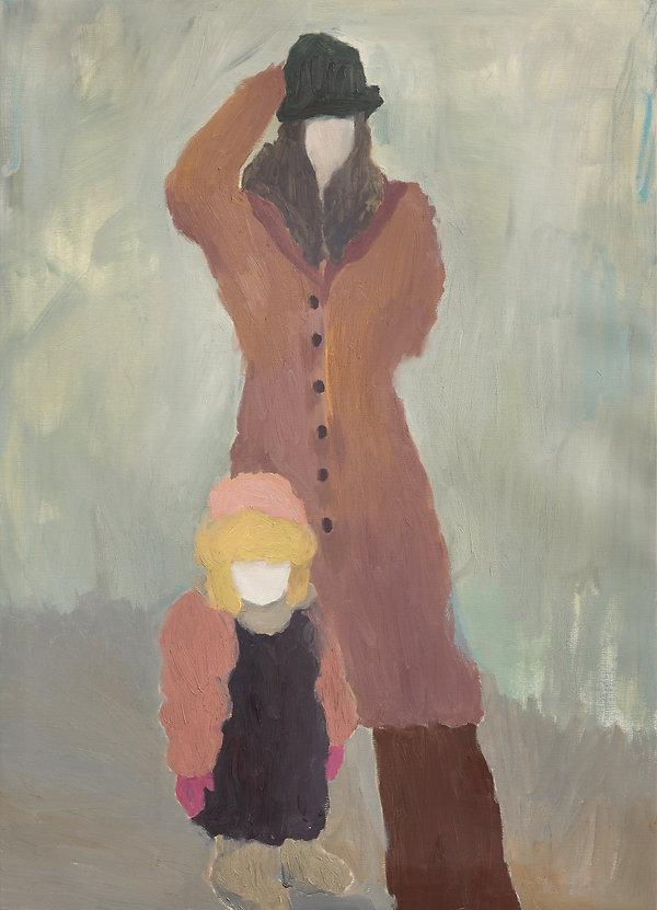『다시, 그녀에게_2』90.9 x 65.1 cm, Oil on canvas, 2020