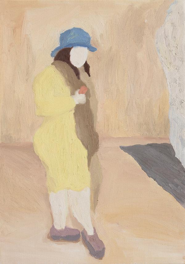 『다시, 그녀에게_1』60.6 x 45.5 cm, Oil on canvas, 2020
