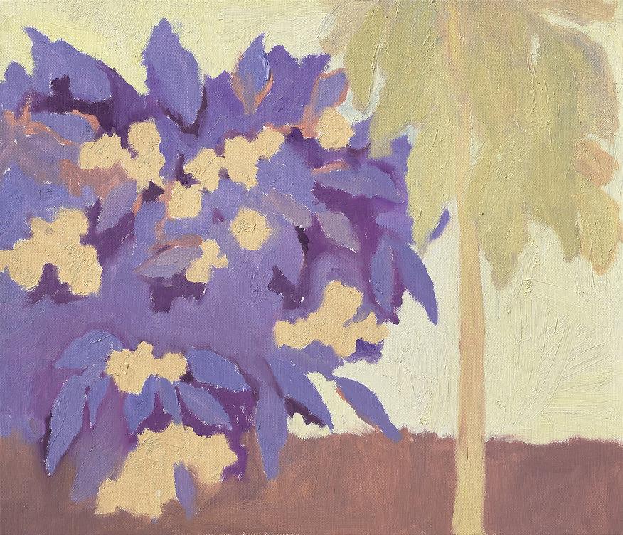 『꽃들_1』53.0 x 45.0 cm, Oil on canvas, 2020