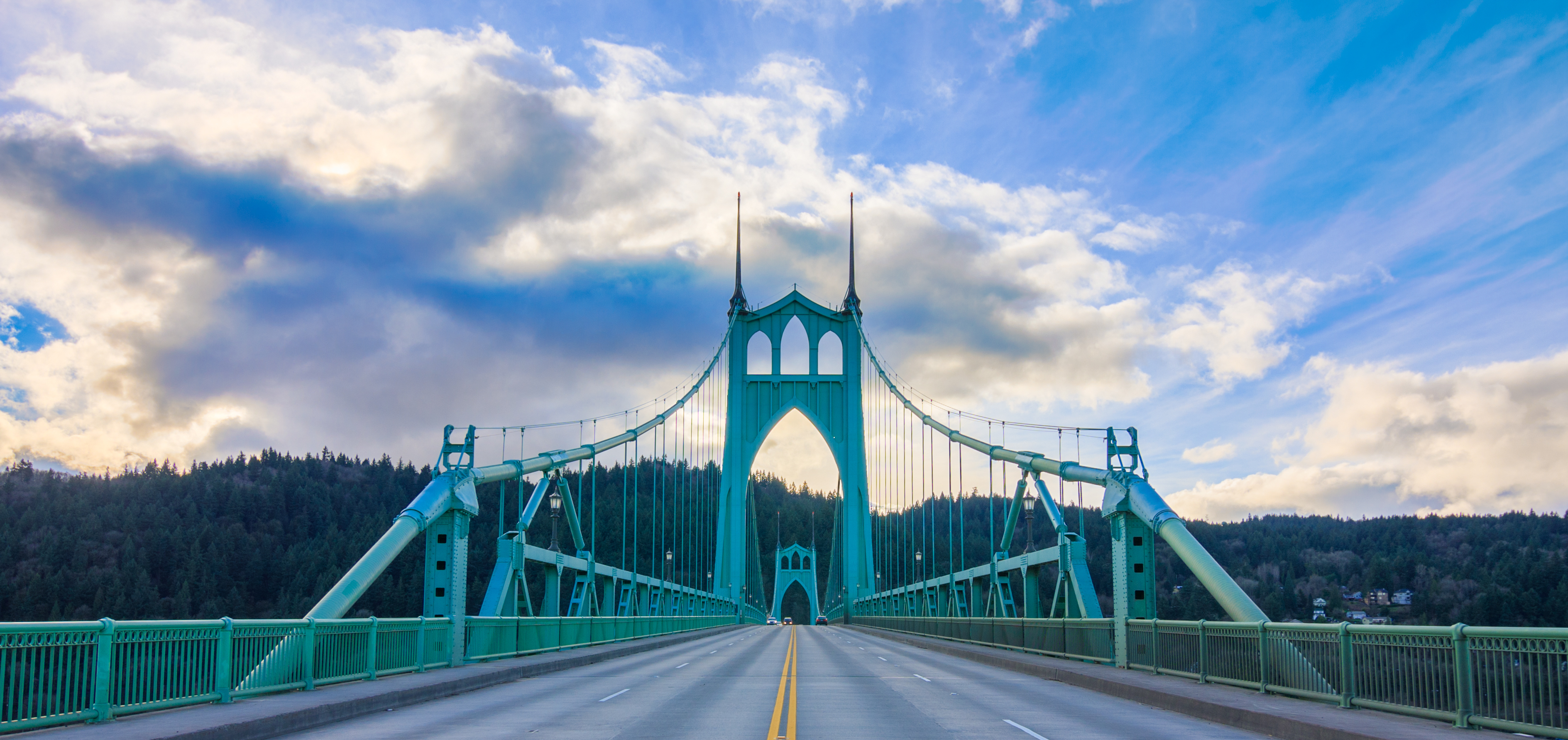 St. Johns Bridge in Portland, OR