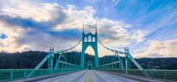St. Johns Bridge in Portland, OR