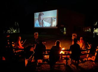 Bonfires + Drivein Movies