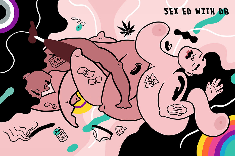 Sex Ed with DB - Illustration