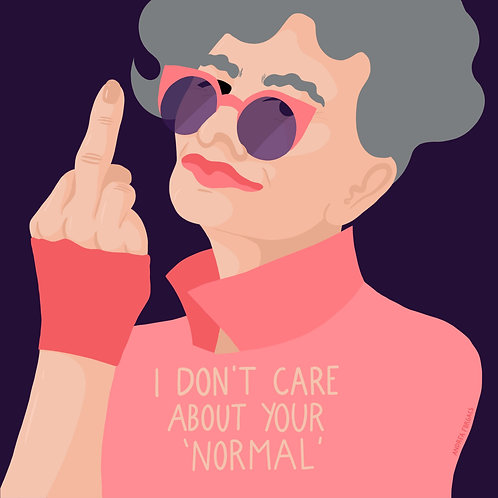 I don't care about your normal