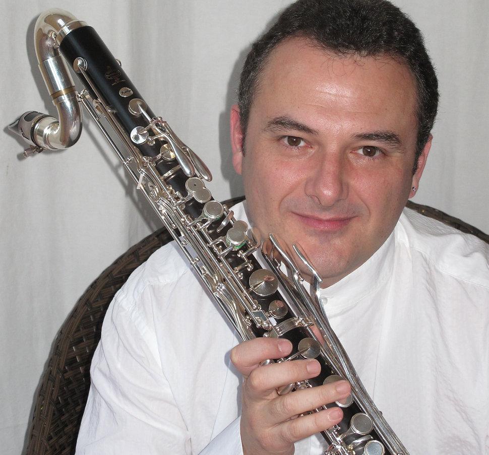 Santi Martinez Abad Clarinete Clarinete bajo y contrabajo.