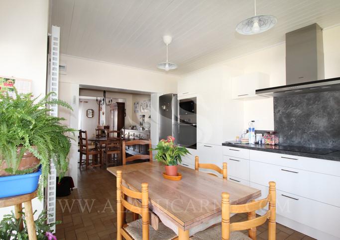 A vendre maison 115 m² habitable avec garage, possibilité suite parentale au rez-de-chaussée