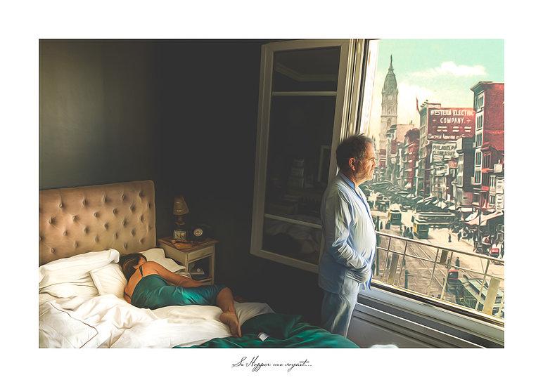 """Série """"Si Hopper me voyait..."""""""