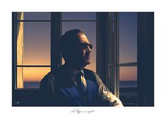 Autoportrait - Coucher de soleil