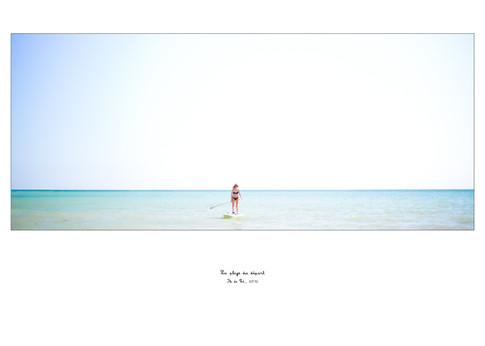 La plage du départ