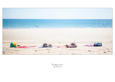 La plage des copines