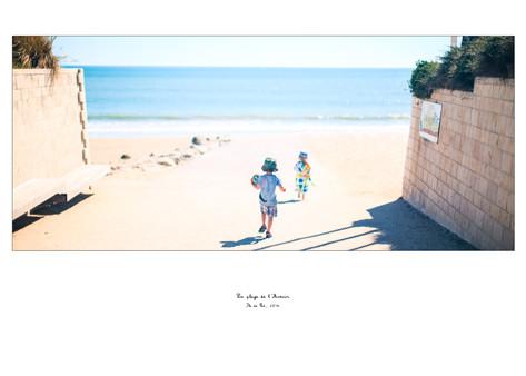 La plage de l'Avenir