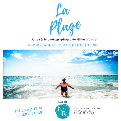 """Exposition """"La plage"""""""