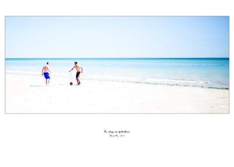 La plage des footballeurs