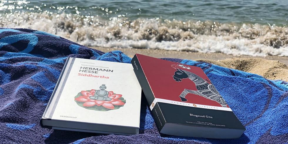 ¡Club de lectura en la playa!