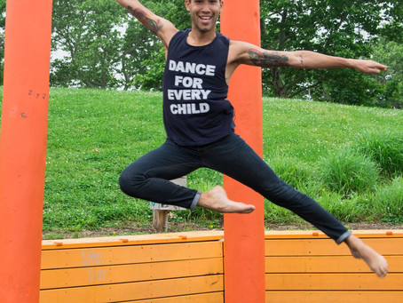 The Dancing Boy!