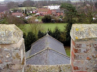 View fro church tower