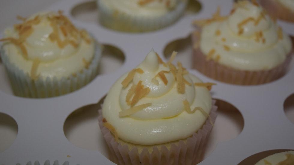 24 Coconut Cupcakes