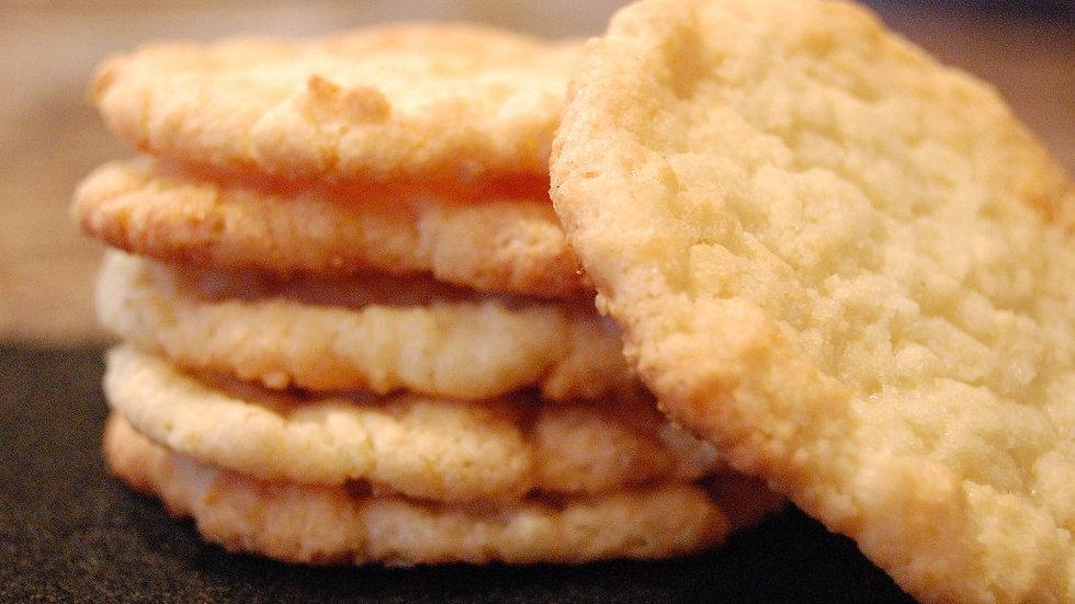 One Dozen Coconut Cookies