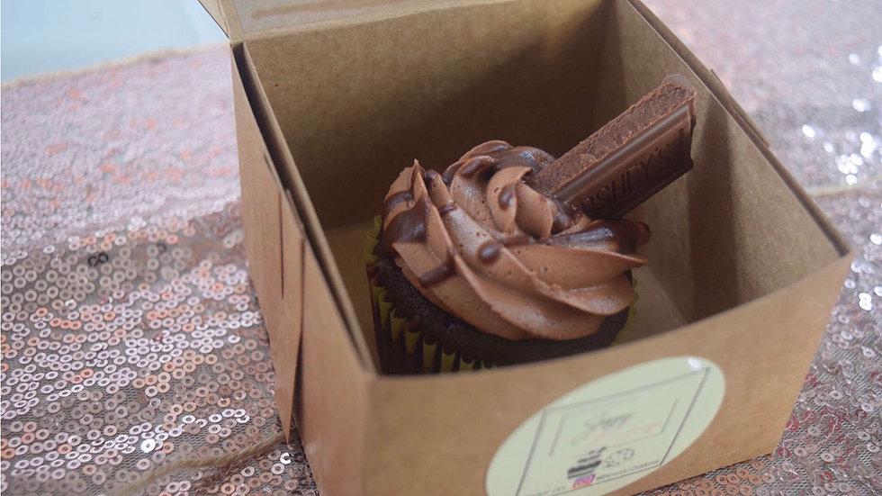 6 Chocolate Cupcakes