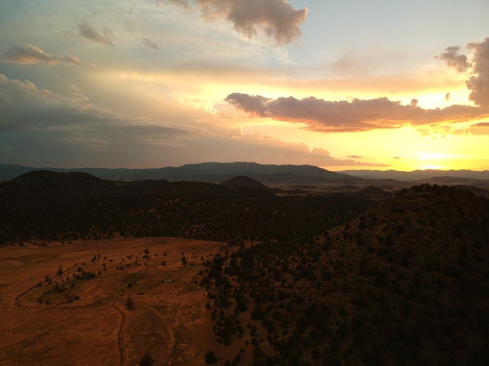 Shasta Valley Sunset