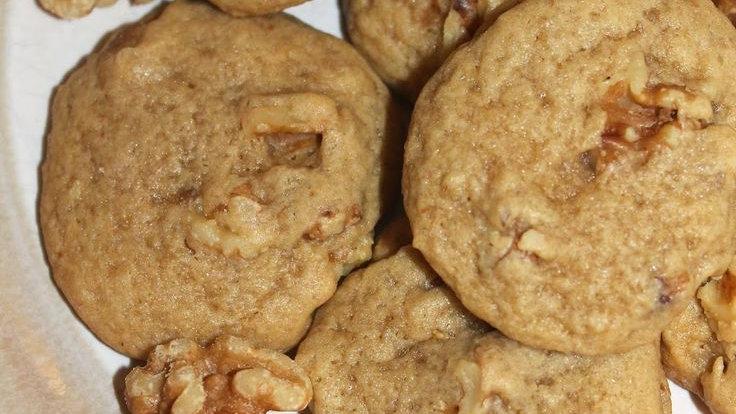 One Dozen Almond Walnut Cookies
