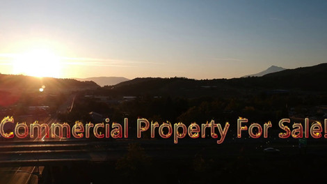Aerial Tour of Commercial Property