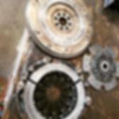 Broken Racing Clutch & Flywheel On A Honda Civic SI At Tedious Repairs In Chico