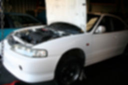 GSR Engine swap on a Acura Integra at Tedious Repairs in Chico
