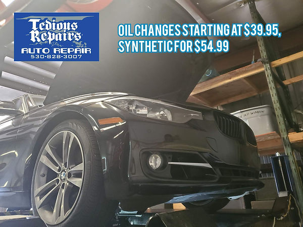 chico oil change