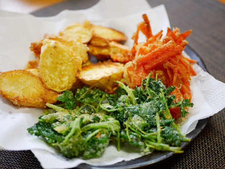 お野菜の天ぷら