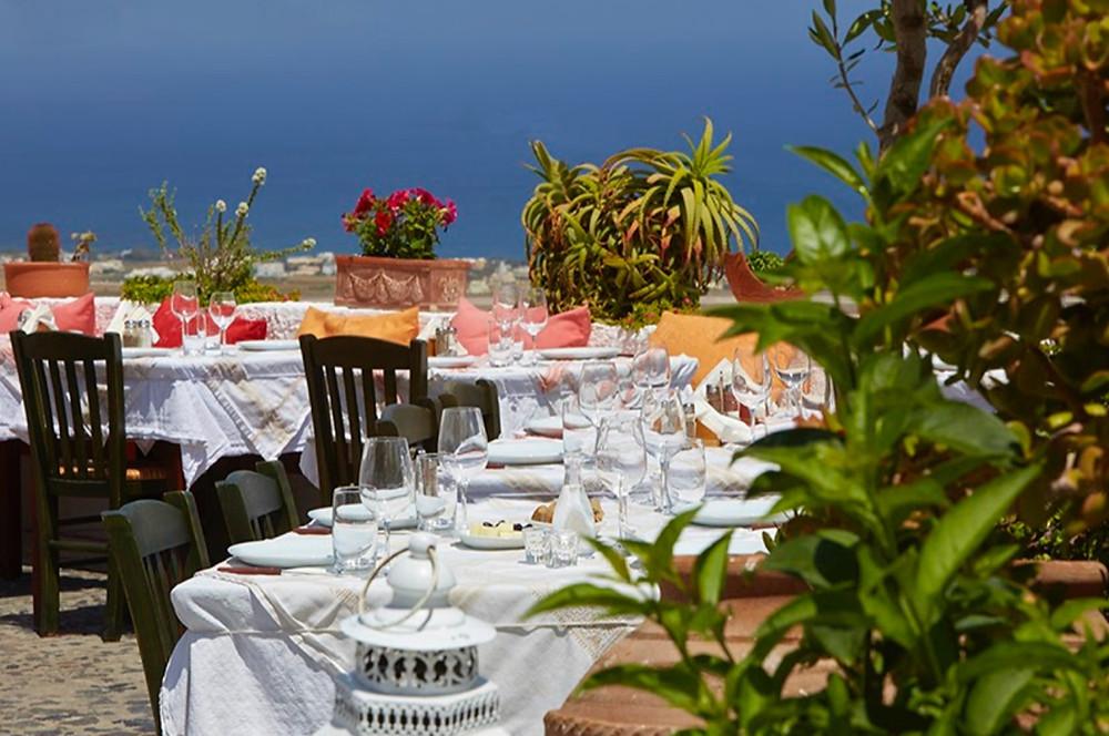 santorini restaurants greece