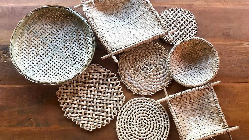 cestaria de parede lola