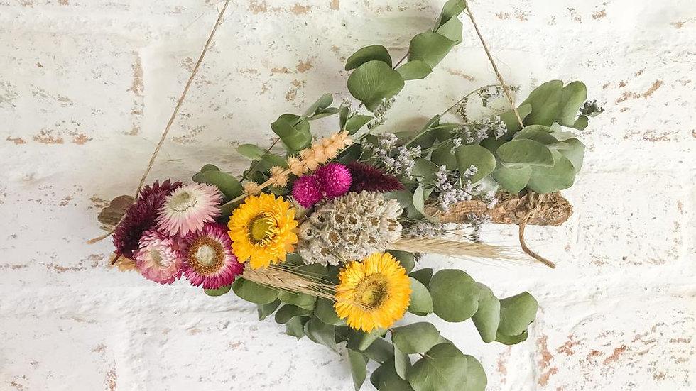 pendente (hanger)  flores secas p helô