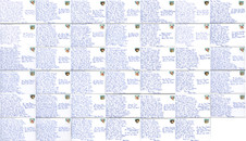 All of the postcards written in Athensjpg