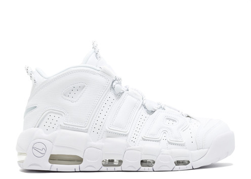 4ce05bd97487 The Nike Air More Uptempo took branding to new heights to match an  unprecedented application of Nike Air that ran from the toe to the heel.