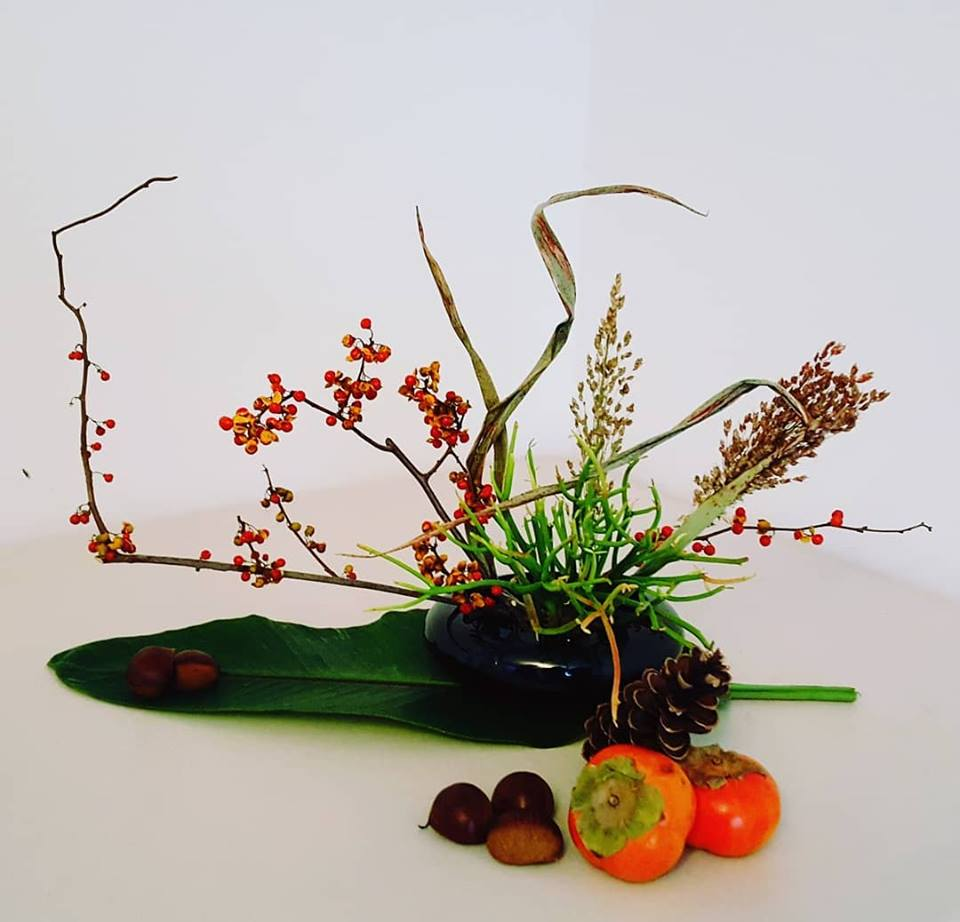Morimono, Thanksgiving arrangement