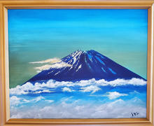 Majestic Dignity of Mt. Fuji, dedicated to my mother