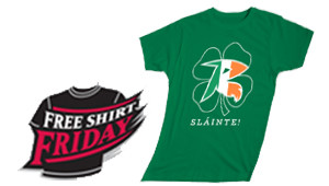 Irish Heritage Night @ the Diamond w/the Flying Squirrels against the Akron RubberDucks